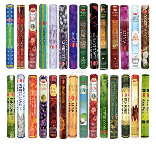 HEM incense sticks for meditation