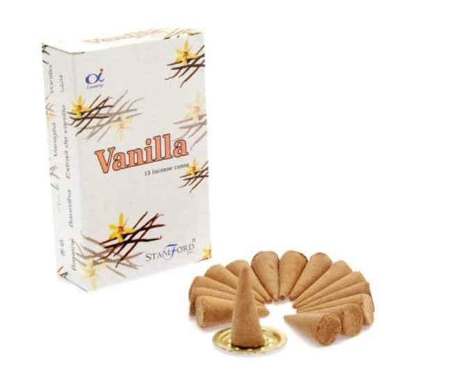 vanilla incense stick vs cones